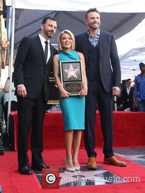 Jimmy Kimmel, Kelly Ripa and Joel Mchale 1