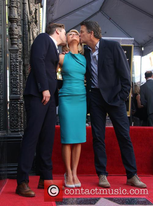 Matt Bomer, Kelly Ripa and Ted Mcginley