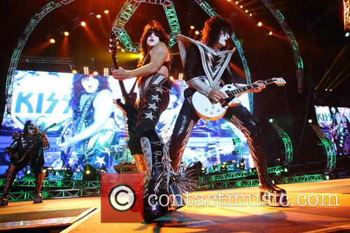 Kiss, Paul Stanley and Tommy Thayer
