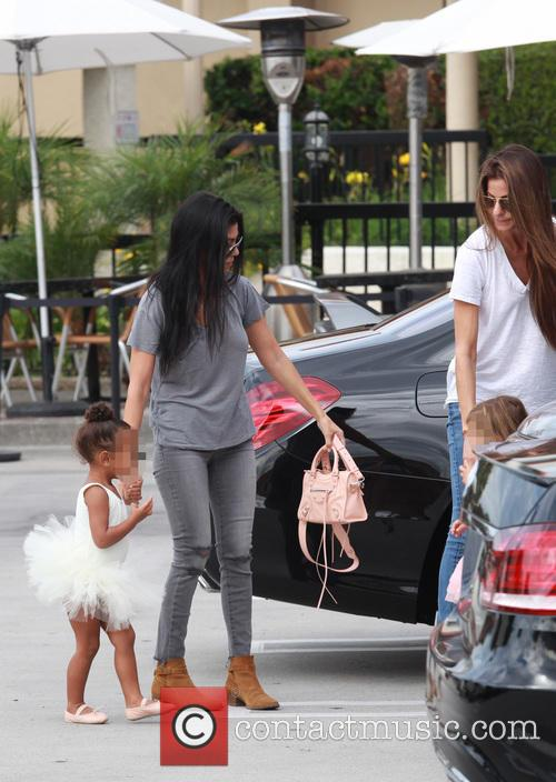 Kourtney Kardashian, Nori, North West and Penelope Scotland Disick