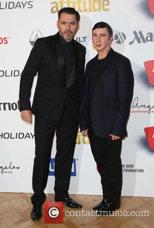 Marc Almond and Roland Mouret