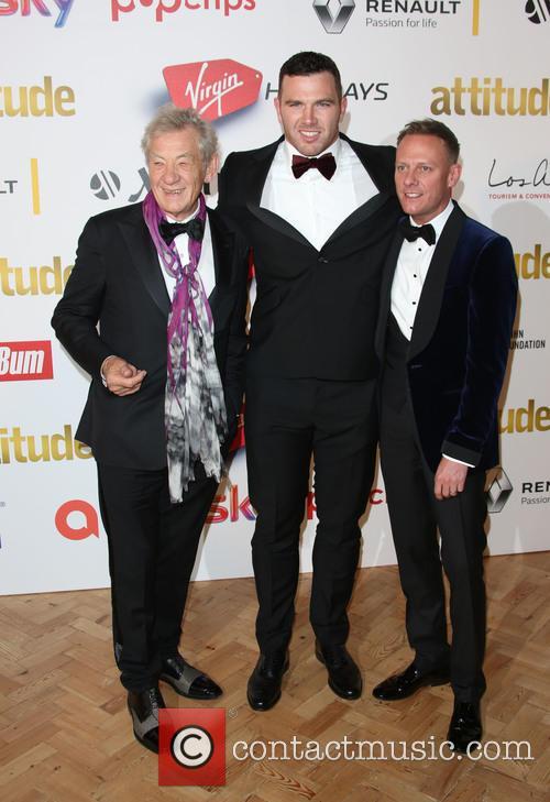 Sir Ian Mckellen, Keegan Hirst and Antony Cotton