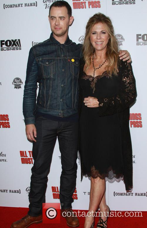 Colin Hanks and Rita Wilson 3