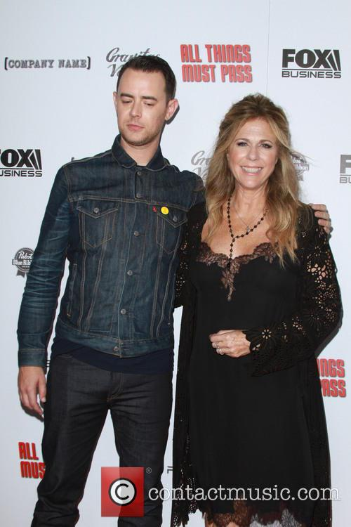 Colin Hanks and Rita Wilson 5