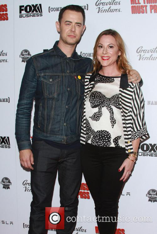 Colin Hanks and Wife Samantha Bryant 2