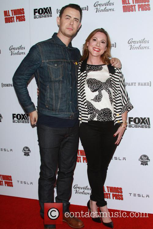 Colin Hanks and Wife Samantha Bryant 1