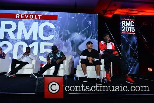 Dallas Martin, Tunji Balogun, Breyon Prescott, Sickamore and Sean Combs 1