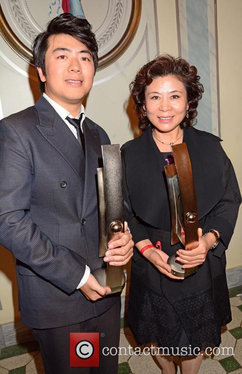Lang Lang and Xiu Lan