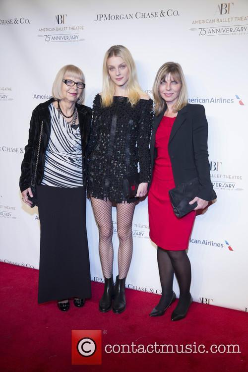 Shirley Martin, Jessica Stam and Debbie Stam 2