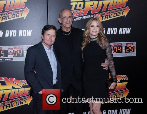 Michael J. Fox, Christopher Lloyd and Lea Thompson 3