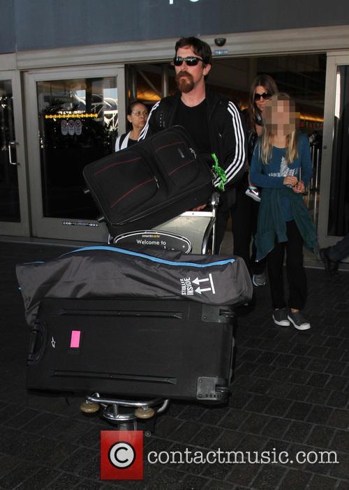 Christian Bale and Emmeline Bale 3