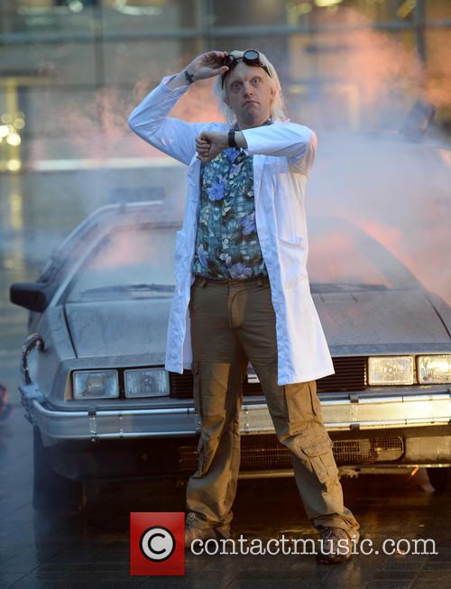Delorean and The Doctor 4