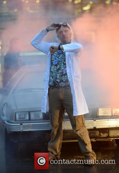 Delorean and The Doctor 6
