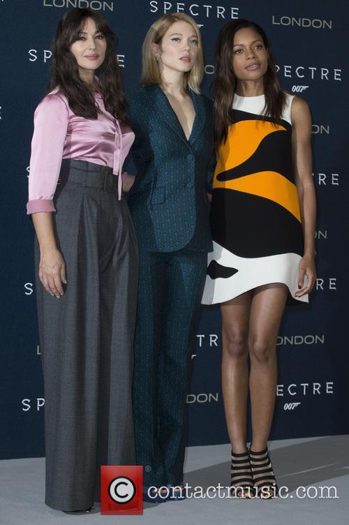 Monica Bellucci, Lea Seydoux and Naomi Harris