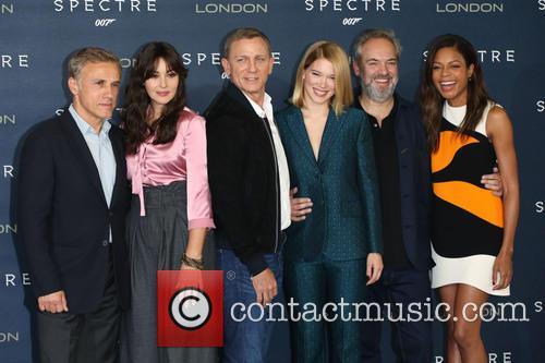 Monica Bellucci, Daniel Craig, Lea Seydoux, Naomie Harris and Christoph Waltz 1