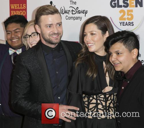 Justin Timberlake And Jessica Biel Make First Red Carpet Appearance Since Welcoming Son