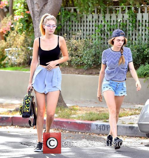 Cara Delevingne, Kendall Jenner and Gigi Hadid 10