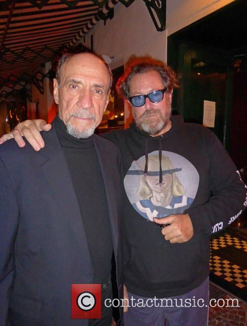 F. Murray Abraham and Julian Schnabel
