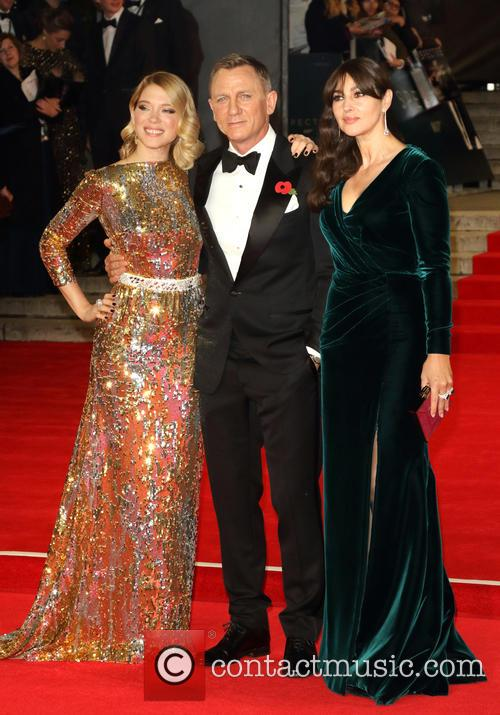 Lea Seydoux, Daniel Craig and Monica Bellucci