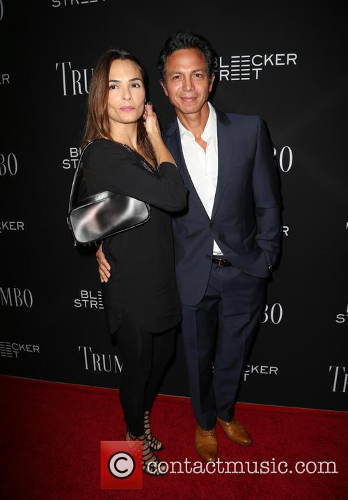 Talisa Soto and Benjamin Bratt