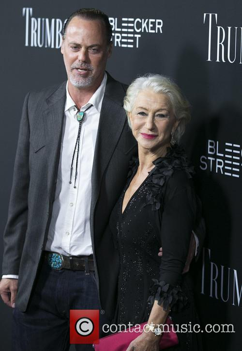 Rio Hackford and Helen Mirren