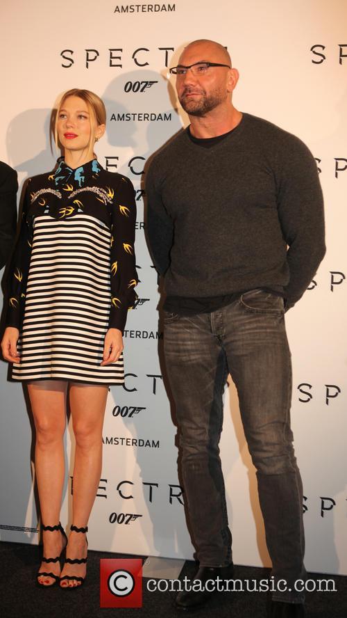 Lea Seydoux and Dave Batista 1