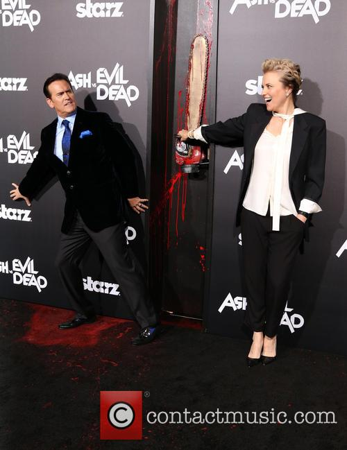 Bruce Campbell and Lucy Lawless 4