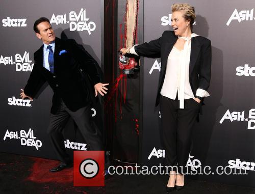 Bruce Campbell and Lucy Lawless 5