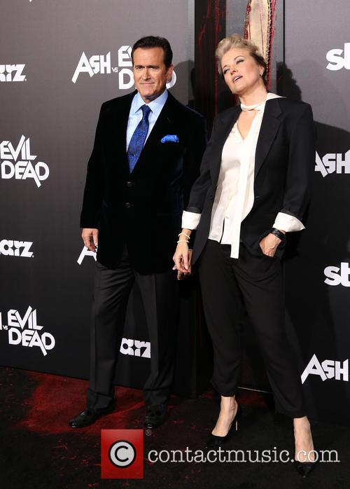 Bruce Campbell and Lucy Lawless 7
