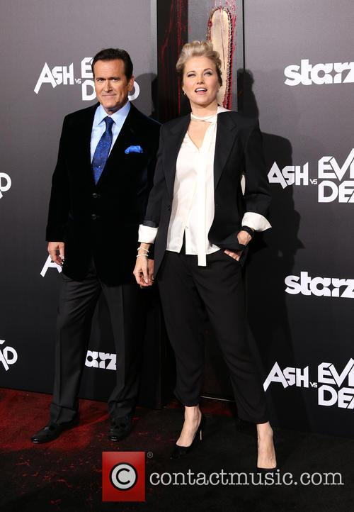 Bruce Campbell and Lucy Lawless 9