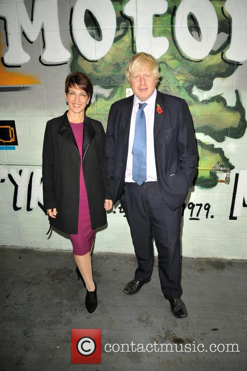 Anna Kennedy Obe and Boris Johnson