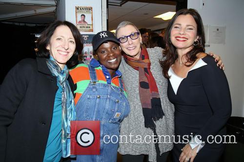 Anna Louizos, Danielle K. Thomas, Robyn Goodman and Fran Drescher 1