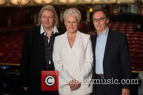 Glenn Close, Don Black and Christopher Hampton