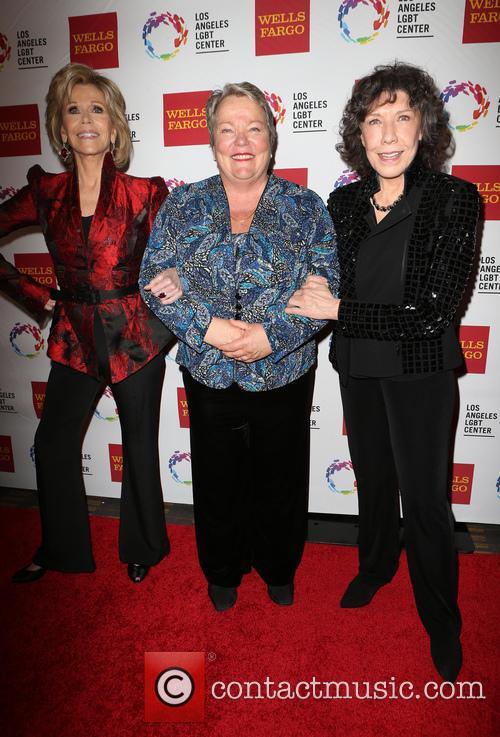 Jane Fonda, Lorri L. Jean and Lily Tomlin 8