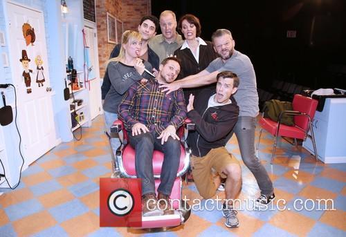 Drew Lachey, Kate Middleton, Adam Gerber, Patrick Noonan, Lynne Wintersteller, Jeremy Kushnier and Jordan Ahnquist