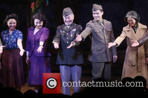 Janelle Toyomi Dote, Lea Salonga, George Takei and Telly Leung 1