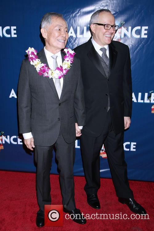 George Takei and Brad Takei