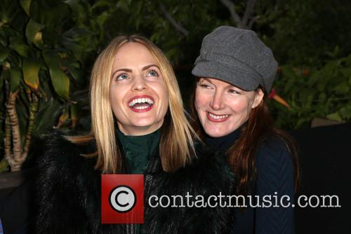 Mena Suvari and Kathleen York