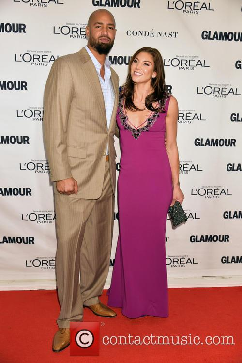 Jerramy Stevens and Hope Solo