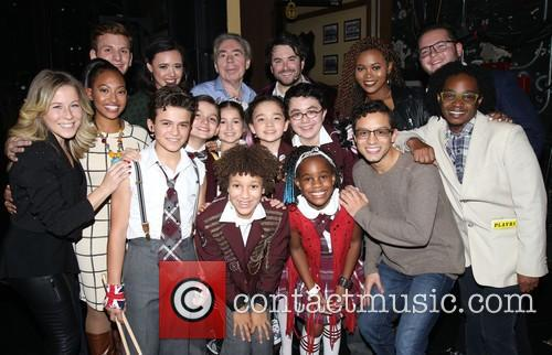Andrew Lloyd Webber, Alex Brightman and Cast