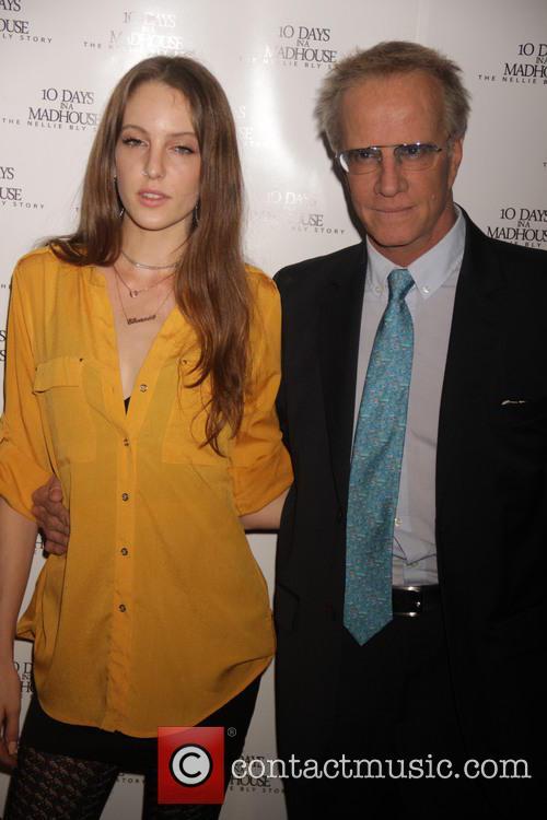 Christopher Lambert and Eleanor Lambert