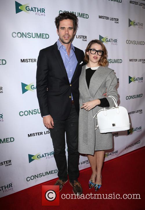 David Walton and Majandra Delfino