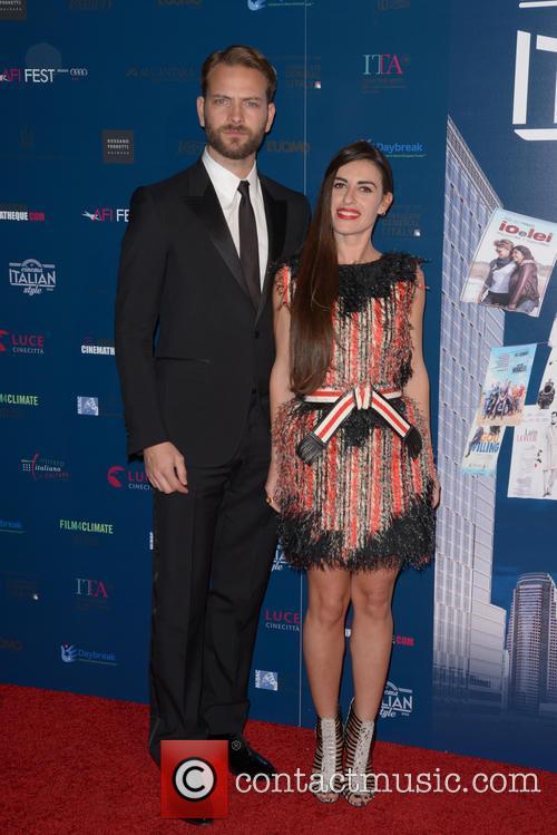 Alessandro Borghi and Roberta Pitrone