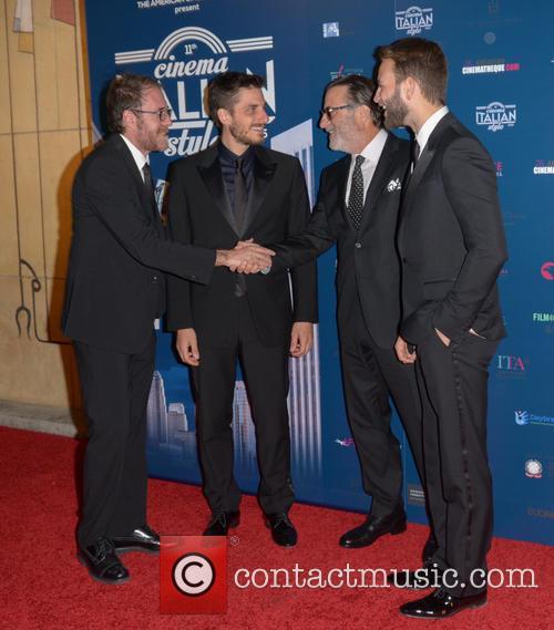 Valerio Mastandrea, Luca Marinelli, Andy Garcia and Allesandro Borghi