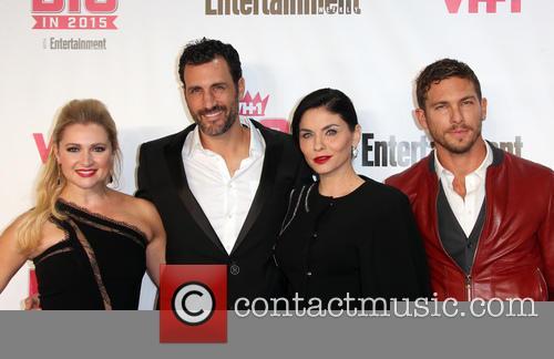 Entertainment Weekly, James Larosa, Katherine Bailess, Jody Lyn O'keefe and Adam Senn 2