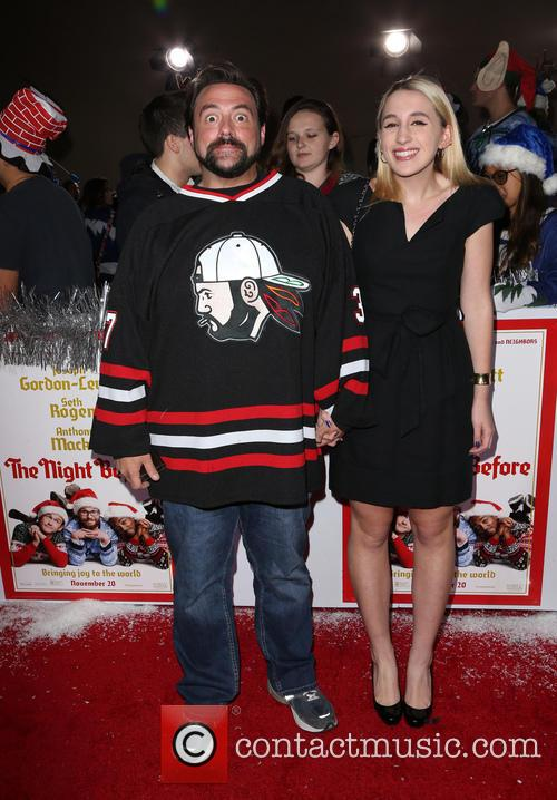 Kevin Smith and Harley Quinn Smith 2