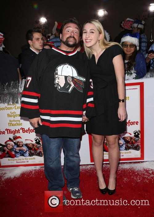 Kevin Smith and Harley Quinn Smith 3