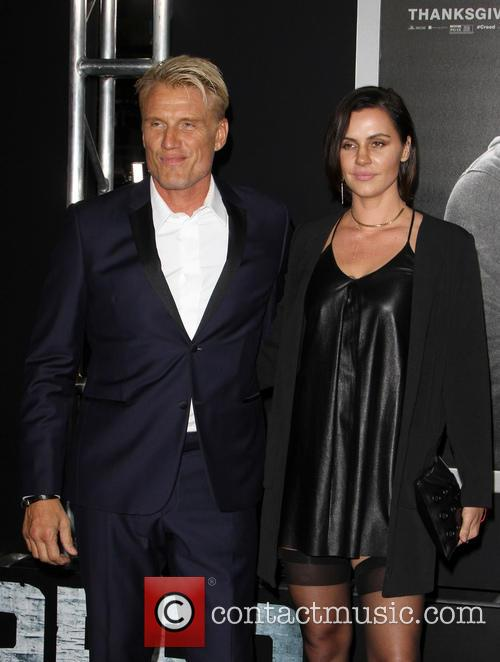 Dolph Lundgren and Jenny Sandersson 1