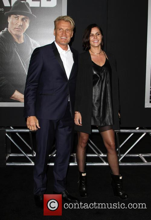 Dolph Lundgren and Jenny Sandersson 2
