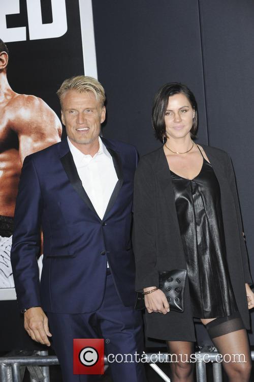 Dolph Lundgren and Jenny Sanderss 1